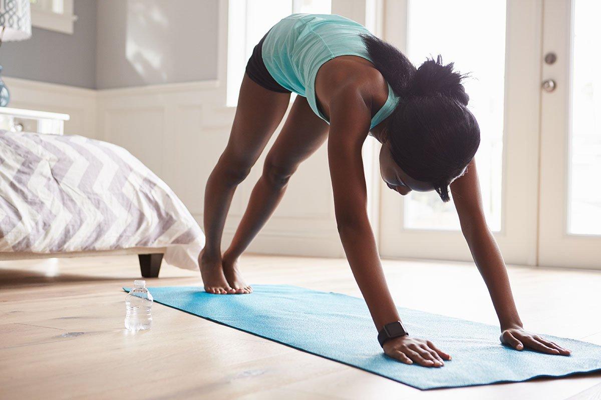 Beautiful Ghana - yoga